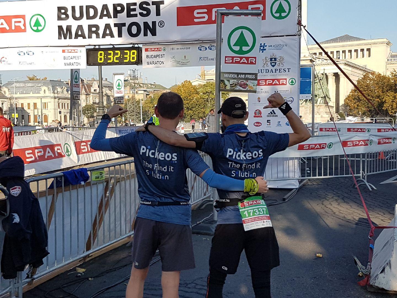 Pickeos marathon budapest