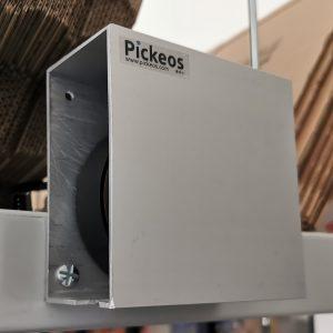 détecteur Laser Lidar pour mur de tri